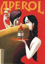 """TARGA VINTAGE """"APEROL ANNI '30"""" PUBBLICITA',LIQUOR ADVERTISING,POSTER, APERITIVO"""