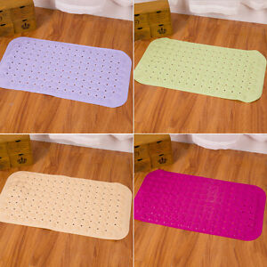 Hot Popular Shower Bath Safety Rubber Suction Cup Bathroom Massage Anti Slip Mat