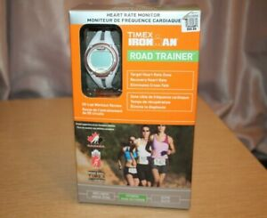 TIMEX Women's IRONMAN Road Trainer Heart Rate Monitor T5K448F5 50 Lap Workout