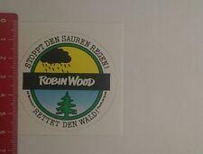 Pegatina/sticker: Robin Wood detiene el lluvia ácida (07121655)