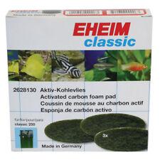 Eheim 2628130 Classic 2213 & 250 Carbono Almohadillas de Espuma x3 acuario