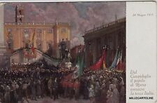 """# ROMA  da quadro di G. PENNASILICO """"DAL CAMPIDOGLIO IL POPOLO DI ROMA CONSACRA"""