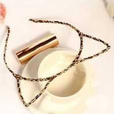 Women Cat Ear Headbands Orecchiette Shape Accessories Hair Hoop Hair Band