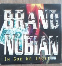 Brand Nubian In God We Trust Double Vinyl Lp Hip Hop 1992 Us Import