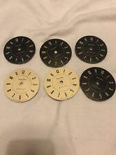 Job Lot Clock Dials Spares Or Repair Watchmakers Estate