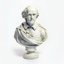 """LARGE William Shakespeare bust 30"""" English Museum Sculpture Replica Reproduction"""