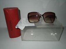 NWOT Valentino 5682/S DVDR5 Brown Camel Sunglasses with Case & Cloth