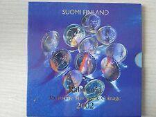 SERIE EUROS AÑO  2002   FINLANDIA    ( MB10520 )