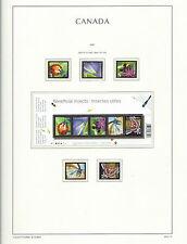 Canada 2007 Lighthouse page 2007.10 - Les insectes bénéfiques-neuf sans charnière