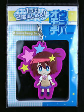 Space Uchuu Patrol Luluco Both Sides Rubber Strap Key Chain Groove Garage New