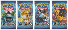 Cartes Pokémon évolutions avec booster pack