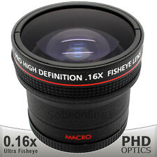 Ultra Wide Angle Macro Fisheye Lens 0.17X For Nikon D7200 D7100 D810 D750 D610