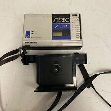 Panasonic FM Radio Cassette Player Recorder Portable Walkman RX-1955 w/ Carrier