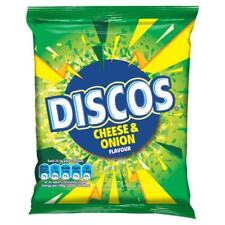 Discos Cheese & Onion Flavour - Box of 24 Bags