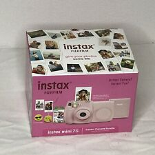 Fujifilm Instax Mini 7S Instant Camera Bundle - Light Piink