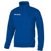 Maglia Tecnica GIVOVA Half Zip Unisex Vari Colori Sport Training Relax Comfor...