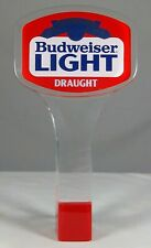 Old Budweiser Light Beer Tap Handle Knob Anheuser Busch St Louis Missouri MO Bud