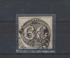 ph684 BRAZIL 1841 Fine used 60r SG2 with 4 even margins.Vertical bend down right
