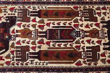 3.9 X 6.5 FT Stunning Pictorial Zakani Family Portriat Carpet