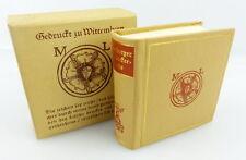 Mini libro: Wittenberger buchdruckersignets Offizin andersen Nexö e820