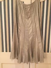 Women's Marks And Spencer's Per Una Size 16 Long Gold Skirt