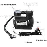 300PSI 12V Portable Air Compressor Auto Car Electric Tire Air Inflator Pump D