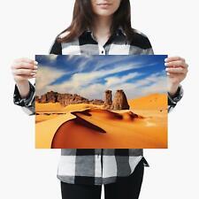 A3| Sahara Desert Sand Dunes Landscape Size A3 Poster Print Photo Art Gift #2344