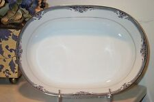 NEW Noritake SQUIREWOOD Oval Vegetable (salad) Serving Bowl - BRAND NEW IN BOX