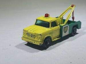 Vintage Matchbox Lesney #13 Dodge Wreck Truck BP Tow Truck NR Auction LOOK