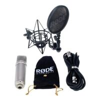 RODE NT1-A THE COMPLETE VOCAL RECORDING SOLUTION microfono filtro antipop NUOVO