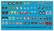 Peddinghaus  1/72 1158 Staffelwappen Bundesluftwaffe