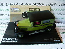 voiture 1/43 IXO eagle moss OPEL collection : 10/40 PS 1925/1929