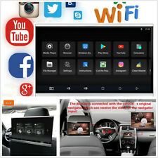 """12.5""""Touch Screen Octa-core 2G+16G Car Headrest Monitor Wifi BT HDMI Android 7.1"""