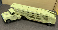 Tonka Toys Mound Minn Car Carrier Hauler Semi Truck 1957 Pressed Steel Vintage