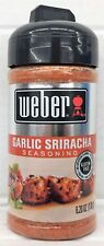 Weber Garlic Sriracha Seasoning 6.2 oz