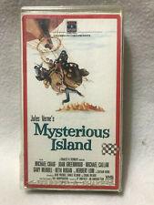 MYSTERIOUS ISLAND, MICHAEL CRAIG, JOAN GREENWOOD, VHS RCA  1986, RARE JULES VERN
