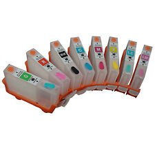 For CANON PRO9000 pro 9000 refillable ink cartridge with auto reset chip 8pcs