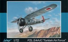 Azur 1/72 PZL P.24A / P-24C Turkish Air Force # 102