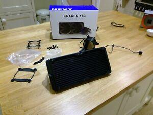 NZXT Kraken X63 280mm All-in-One RGB Liquid CPU Cooler Cooler