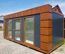 Bürocontainer Wohncontainer Gartenhaus Büro 6x2,83 Meter mit Heizung - sofort -
