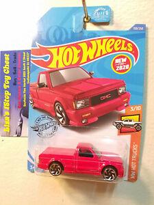 Hot Wheels 2020 HW HOT TRUCKS '91 GMC Syclone Red 150/250 B1