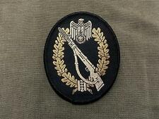German Army Infantry Woven Patch Sew On