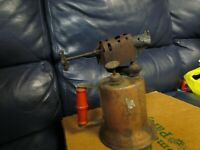 Vintage Antique Turner Brass Soder Torch Gas Blow Torch (7)