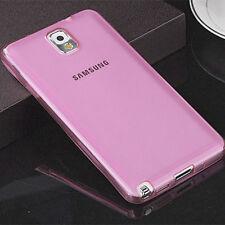 Slim Clear TPU Silicone Gel Soft Skin Case Cover For Samsung Galaxy Note 4