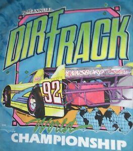 NEW!  Vintage 1992 DTWC - Pennsboro Dirt Track World Championship -  Large shirt