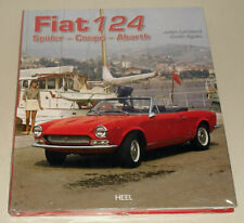 Illustrated Book: Fiat 124 Spider, Coupe, Abarth, DS, Pininfarina Spidereurope,