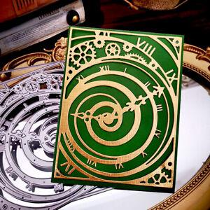 Vintage Clock Metal Cutting Dies Stencil Scrapbooking Embossing Card Album Craft