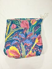 Goof Beach Pool Fold Away Bath Sheet Towel Bag Floral Theme Pocket Unique