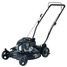 Gas Lawn Mower 21 in 2 in 1 Walk Behind Push Backyard Garden Grass Yard NEW