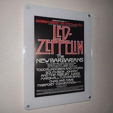 LED ZEPPELIN Rare Original Concert Poster @ Knebworth Park 11th August 1979